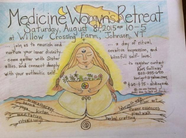 1st Annual Medicine Womyn's Retreat - 2015!